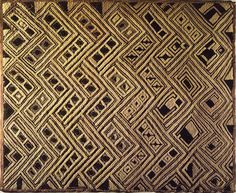 Brooklyn Museum - Kuba Raffia Cloth Panel