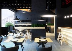 Hyper-realistic renderings of a proposed cafe in the Ukraine | Dezeen