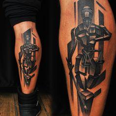 Custom design, black and gray Temida tattoo. Artist @martinssilins1  #temida #temidatattoo #tattoo #customdesign #scales #ladyjustice #mythology #blackandgray #blackngray #legtattoo #manwithtattoos #riga #tattooinriga #tattooed #art #tattooink  #ink #inked #skin #tattooartist #tattoofrequency #share #like #follow