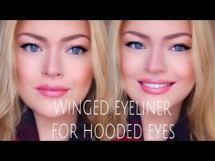 Makeup by Myrna - Beauty Blog: Black winged eyeliner for hooded eyes! Makeup look for fall