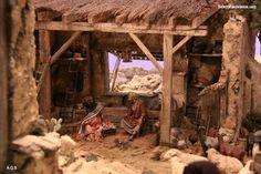 belenistas de la Isla. Fotos Nativity House, Diy Nativity, Christmas Nativity Scene, Christmas Tree Decorations, Christmas Cave, Christmas 2019, All Things Christmas, Nazareth Village, Village Miniature