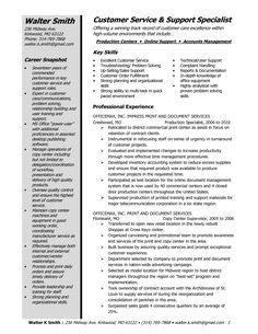 Customer Service Resume Sample   Walter     s Customer Service Representative Resume
