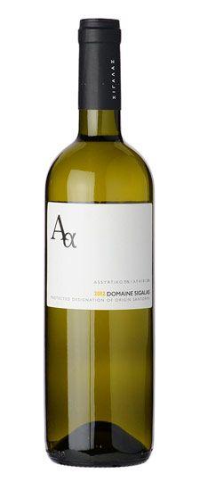 "2012 Sigalas ""Aa"" (Assyrtiko/Athiri) Santorini wine vinos maximum vinho"