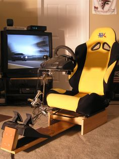 Racing Simulator Chair Plans Desk Kids 57 Best Cockpit Diy Images Gaming Flight Simulation Home Seats