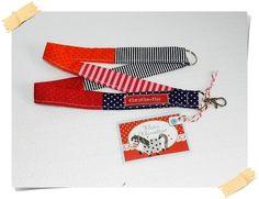 Schlüsselbänder - ♥ buntfröhliches Schlüssel-Glück ♥ - ein Designerstück von KlaraKlawitter bei DaWanda