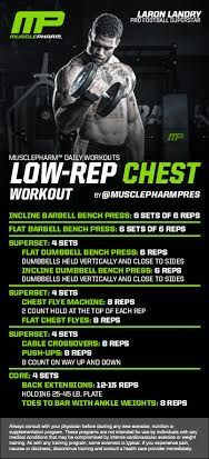 Low Rep Chest