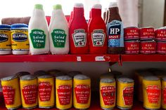The Corner Shop is a 7 month project from Lucy Sparrow which contains more than 4000 hand sewn felt products
