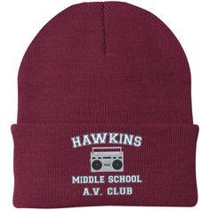 21dc9599cc5d9 Hawkins Middle School AV Club Knit Cap