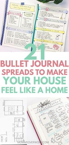 Best BULLET JOURNAL HOME IDEAS. Bullet journal flylady and konmari decluttering inspired cleaning schedules and home organization pages. House maintenance projects, improvements, and renovation drawing example pages. Bujo Inspiration, Bullet Journal Inspiration, Journal Ideas, Home Buying Tips, Home Buying Process, Flylady, Bullet Journal Spread, Bullet Journal Layout, Bullet Journals