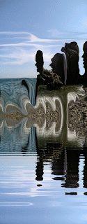 tony danis World 1, Animated Gif, Greece, Digital Art, Backgrounds, Animation, Magic, Bird, Painting