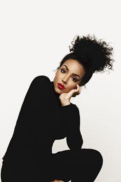 "39f8752eb0ae jaiking  "" artbrains  "" Jade By  Blair Caldwell "" Follow me at http. Black  Girl Red ..."
