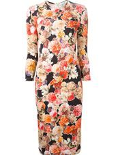 Givenchy - fitted floral jersey dress #genteroma