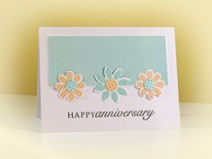 Happy Anniversary Scott and Lisa by swldebbie - Cards and Paper Crafts at Splitcoaststampers