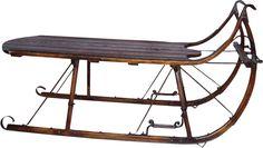 $1,395. Sleigh Coffee Table - Eagle Head Albany Cutter Sleigh