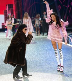 Bruno Mars Rocked Some Seriously High Heels at the Victoria's Secret Fashion Show