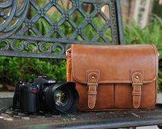 Digital SLR Camera Messenger Bag The DSLR Camera by sunmarkstudio, $46.00