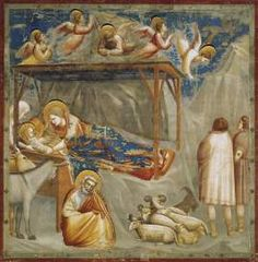 Giotto art activities--excellent!  Gives background and includes several different types of activities including fresco painting