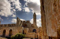 Tower of David's citadel, Jerusalem, Israel