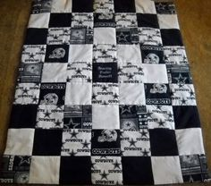 Handmade Dallas Cowboys CribSize Quilt by OzarkMountainQuilts, $50.00