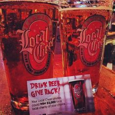 Drink #beer, give back! #localcheer #givethegift #forcharity #dontbeagrinch @bluepointbrewing