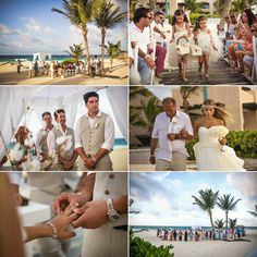 hard rock punta cana wedding. {isabella + luke} beach ceremony