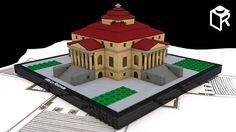 Villa_La_Rotonda_w_blueprint   Hi, Friends in LEGO! This is …   Flickr