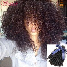 Saçlarin kapatilmasi Hair Weaving Brazilian Virgin Hair 3 Bundles Kinky Curly Virgin Hair Afro Kinky Curly Hair 10A Unprocessed Afro Kinky Curly Weave Human Hair ** Bu bagli bir çam AliExpress oldugunu.  Ayrintili bilgi AliExpress web sitesinde ZIYARET dugmesine tiklayarak ulasabilirsiniz.