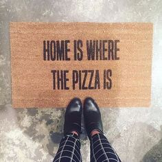 Home Is Where The Pizza is by ILoveCyberShopping. [Grunge, Hipster and Indie.]