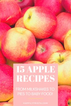 15 must try apple recipes