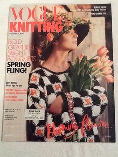 Vogue Knitting magazine Sp/Sum 1992