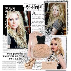 """""""Avril Lavigne #2"""" by yamyiy on Polyvore"""