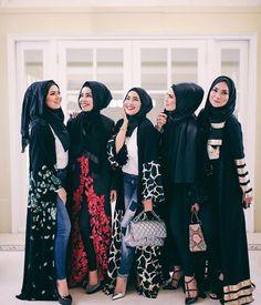 Islamic Fashion, Muslim Fashion, Modest Fashion, Girl Fashion, Hijab Wear, Hijab Outfit, Hijab Dress, Dress Prom, Hijab Turban Style