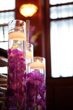 beautiful floating orchid arrangement