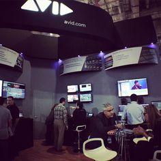 Avid Booth #Mexico  #ProAudio #ProVideo #Briadcast #LiveSound