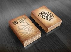 Art direction and creative of musician logo, label logo, business card and album artwork. He's a young country artist with voice 20 years older than he looks. I wanted to portray a vintage style with a modern look.