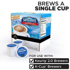Keurig® K-Cup® Portion Pack Swiss Miss Hot Cocoa - 16-pk.