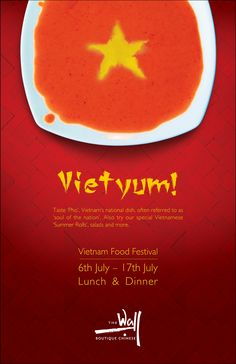 Poster: The Wall, Vietnam Food Festival