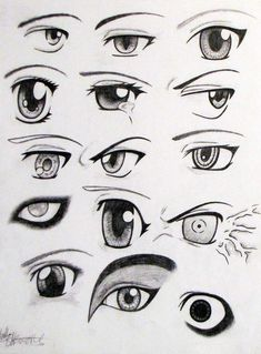 Anime Eyes by Ella Williams on Deviant Art--page suggested by Anjali B. Manga Eyes, Anime Eyes, Manga Anime, Anime Art, Manga Tutorial, Sketches Tutorial, Realistic Eye Drawing, Manga Drawing, Cartoon Drawings