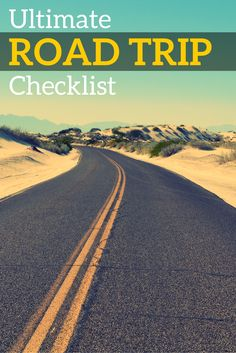 Planning a road trip with your family? Remember everything that you need to bring and pack with this ultimate road trip checklist!