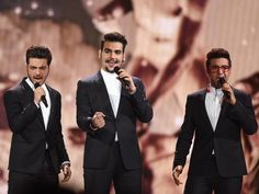 Il Volo, Italy, at Eurovision 2015 Friday May 22, 2015 ~ They won televoting by landslide on Saturday, May 23, 2015