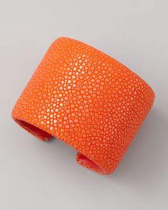shopstyle.com: Nest Stingray Cuff, Orange