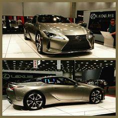 Lexus LC500. 2017 DFW Auto Show.