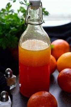 Vérnarancsos salátaöntet ~~ Kifőztük.hu Hot Sauce Bottles, Drinks, Eat, Food, Drinking, Beverages, Eten, Drink, Meals