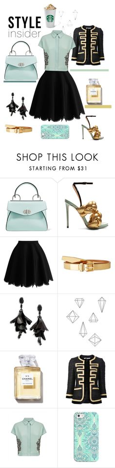 """Mint to be"" by belen-cool-look on Polyvore featuring moda, Proenza Schouler, Marco de Vincenzo, Lauren Ralph Lauren, Oscar de la Renta, Umbra, Givenchy, Jaeger y Casetify"