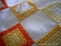 Resultado de imagem para toalha de croche antiga