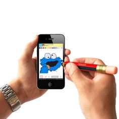 Pencil Stylus for Touch Screen Devices - I Want One Of Those