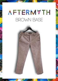 AFTERMATH : BROWN BASE #FASHION #STREETWEAR #AFTERMATHBKK  #AFTERMATH #STYLE #MENSFASHION #MENSTYLE #BANGKOKSTYLE