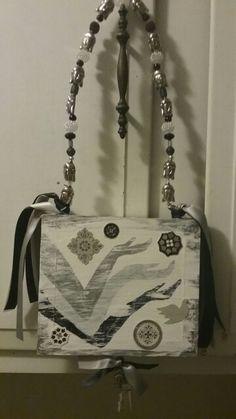 Yoga/ Durga Cigar box purse by Cyndi Greer☆☆