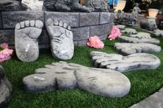 Kuvat: KivaaTekemistä.fi Garden Sculpture, Outdoor Decor, Home Decor, Decoration Home, Room Decor, Interior Decorating