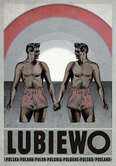Ryszard Kaja, Lubiewo, Polish Poster
